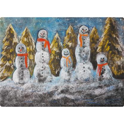 Poster Sneeuwmannen